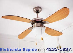 Eletricistas instalador de ventiladores